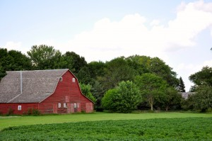 Farm house in Minnesota
