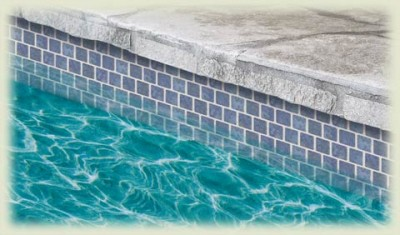 Water line tile example.