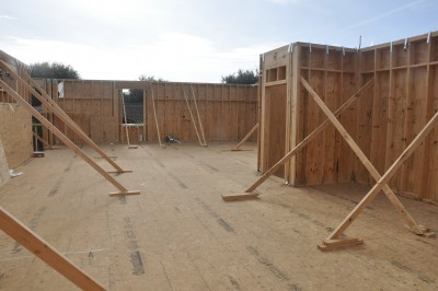 Picture taken from our future master bedroom.