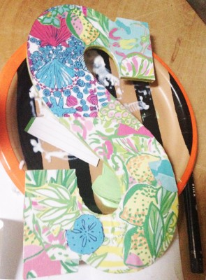 Lilly Pulitzer Modge Podge Project