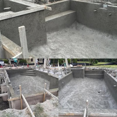 Pool progress!