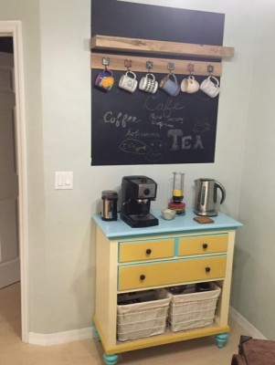 Coffee Bar Complete!