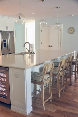 Another angle of my kitchen island reveal