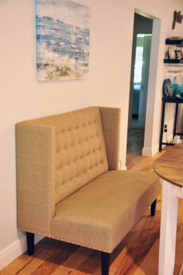 Settee for dining table