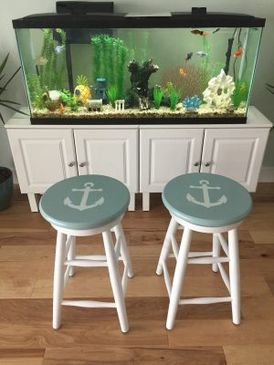 Refinished Bar Stools