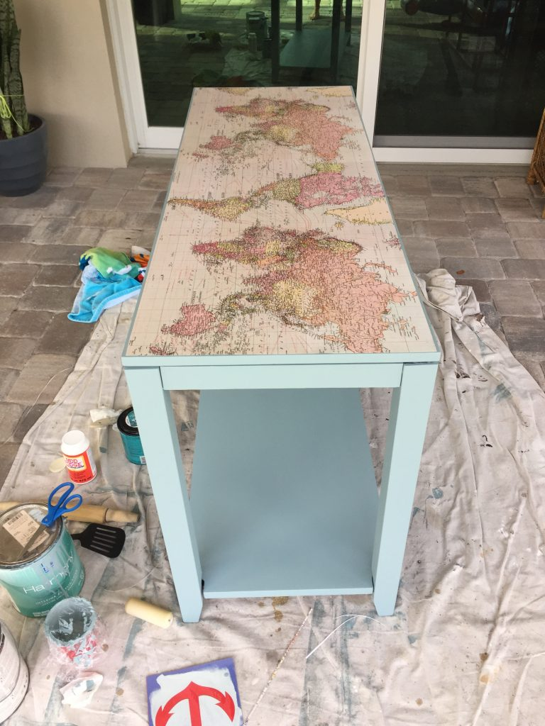 Console Table in Progress