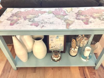 Console Table After
