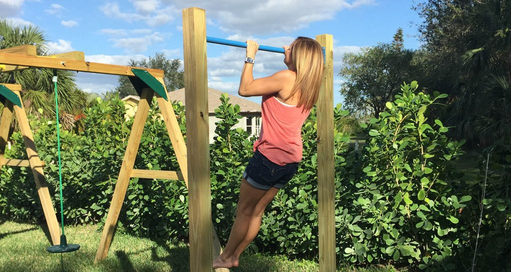 Installing a Pull Up Bar