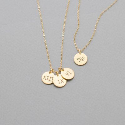 Custom Initial Necklace, Starting at $24.80