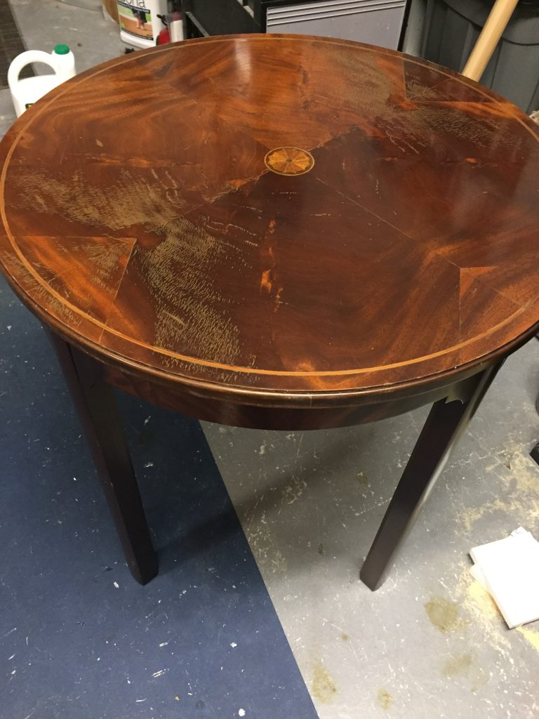 Side Table From Trash to Treasure