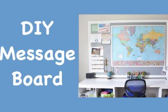 DIY Message Board