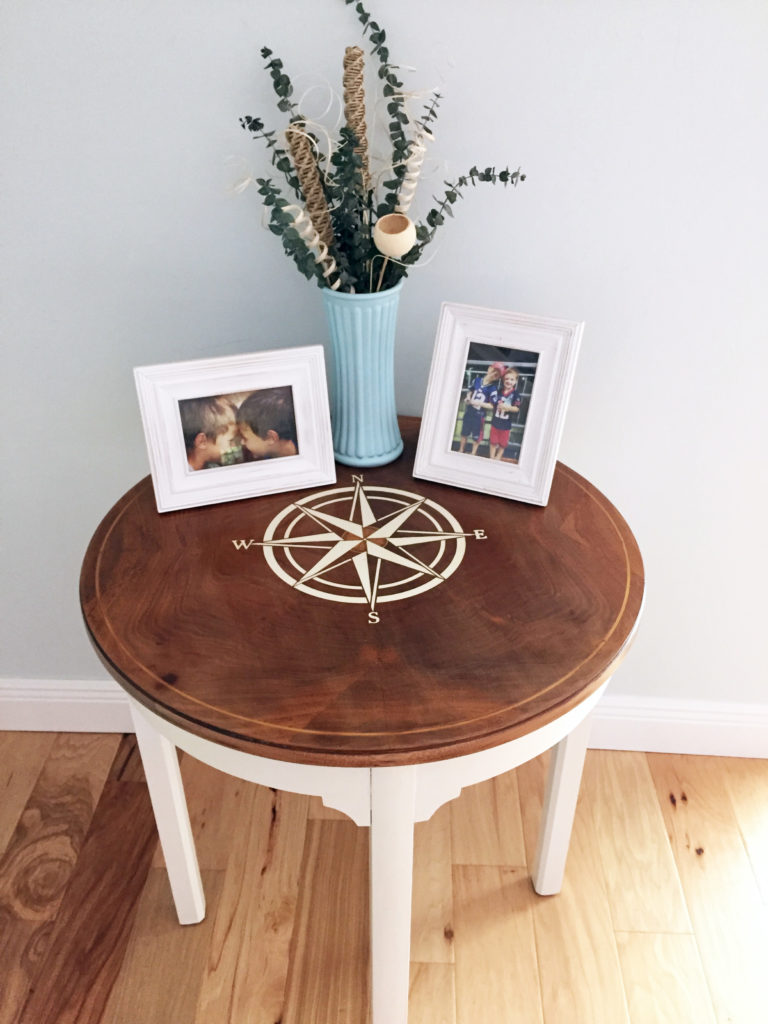 Trash to Treasure Side Table