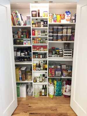 Pantry, After Organization