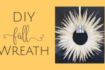 DIY Easy Fall Wreath