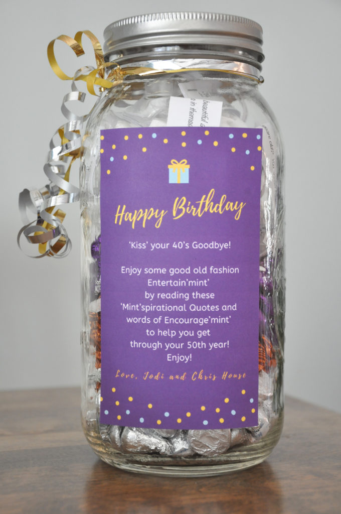 DIY Birthday Gift for any age