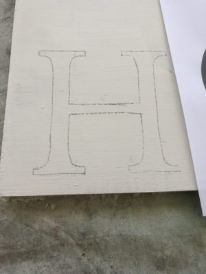 DIY Personalized Pool Sign