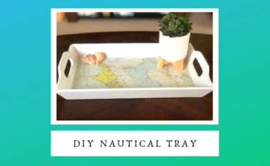 DIY Nautical Tray