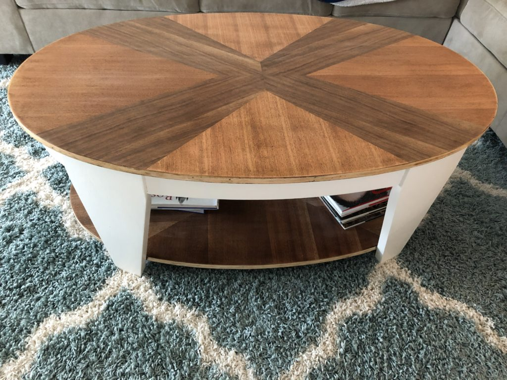Thrift Store Challenge - Coffee Table Revamp