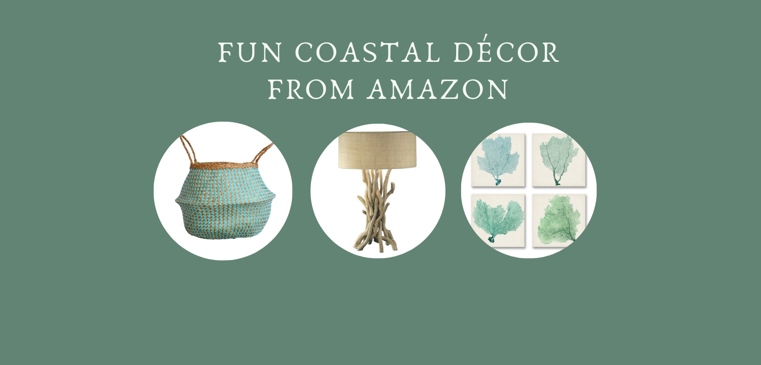 Fun coastal decor finds from amazon