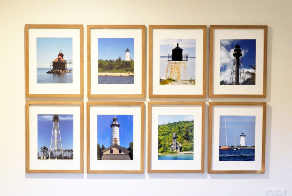 Lighthouse Gallery Wall