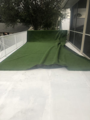 Installing Artificial Turf