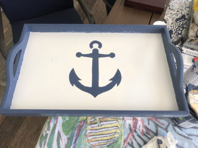 Thrift Store Challenge - Tray Makeover