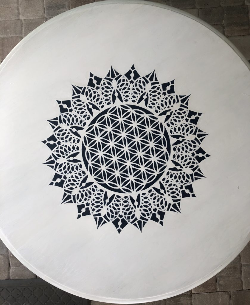 How to Apply a Stencil (Tips from a Novice)