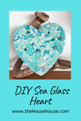 DIY Seaglass Heart