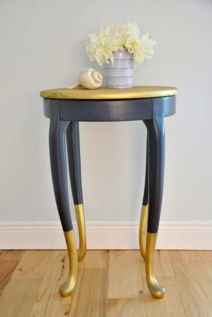 Gold Dipped Side Tables