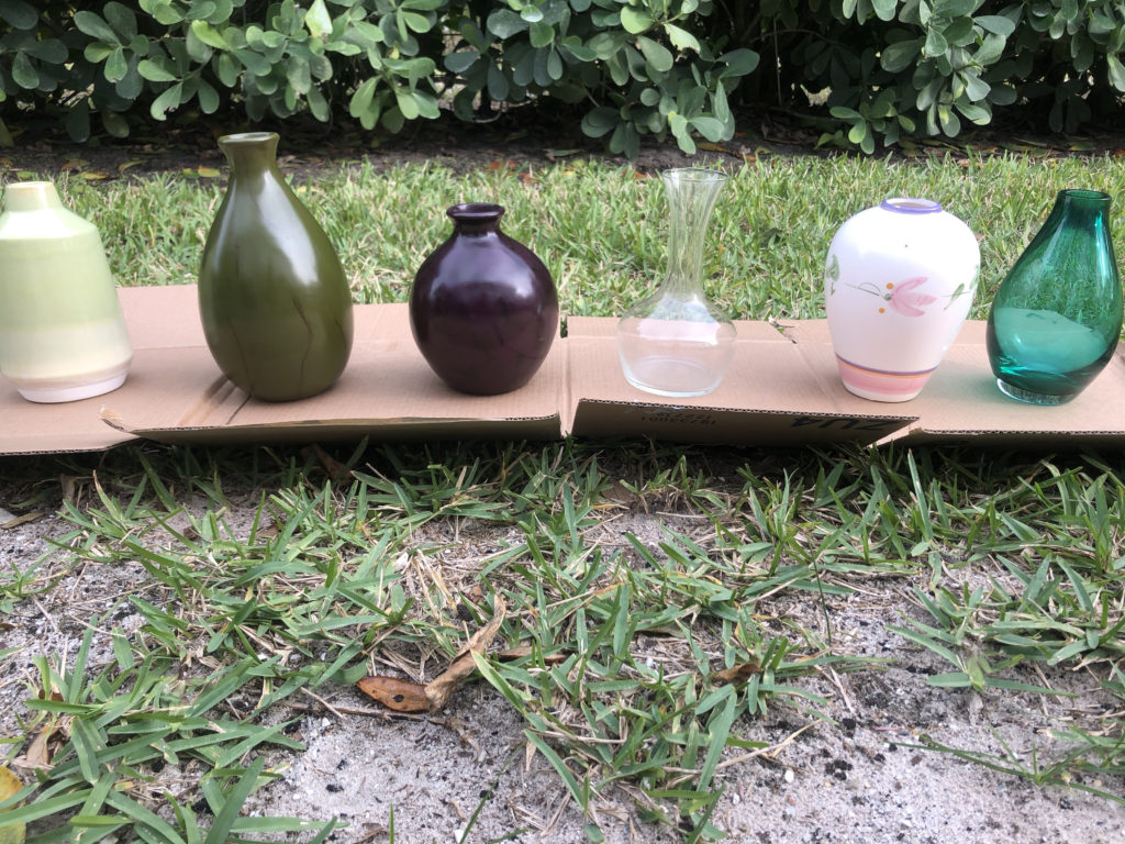 Easy DIY Thrift Store Planter and Vases Project