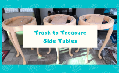 Trash to Treasure Side Tables