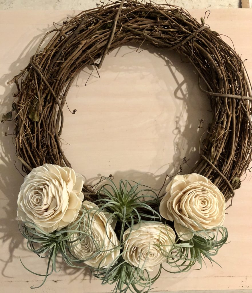 DIY Grapevine Wreath