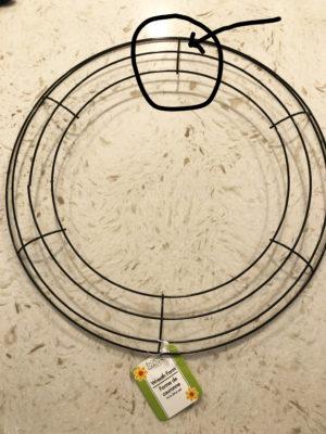 DIY Denim Rag Wreath