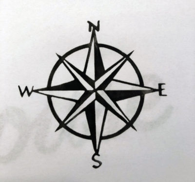 Compass Rose for my sign