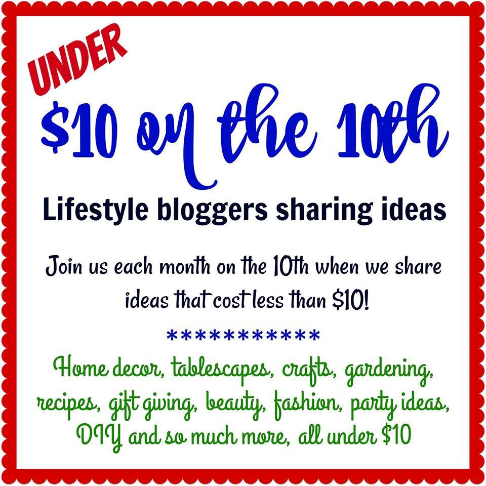 $10 on the 10th Blog Hop