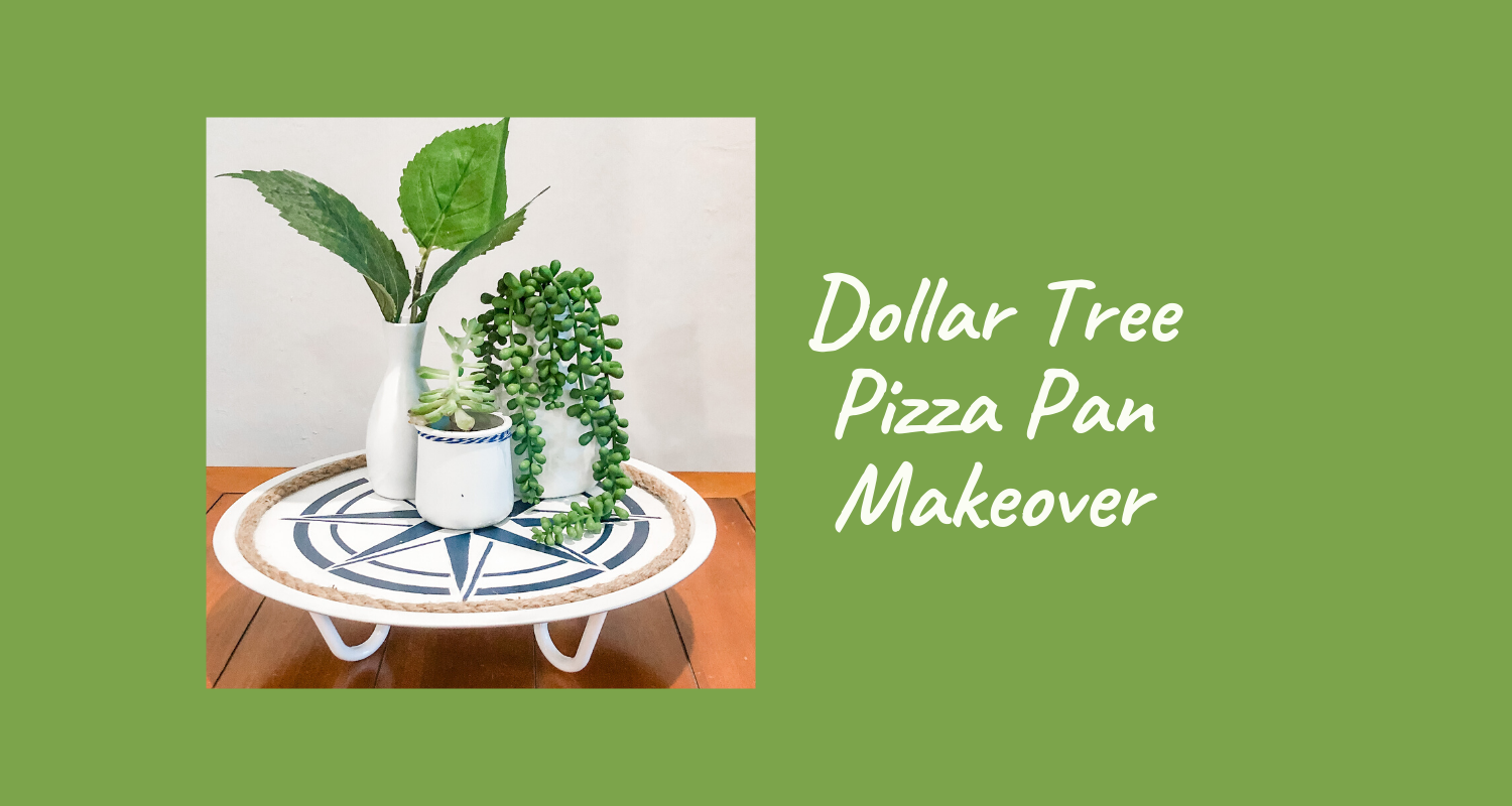 Dollar Tree Pizza Pan
