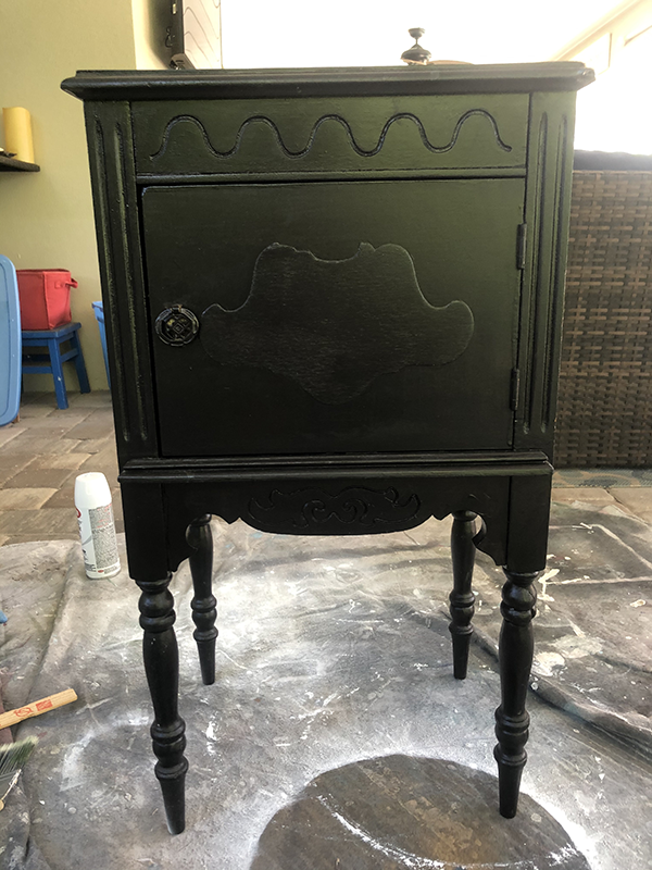 Trash to Treasure - Side Table/Humidor